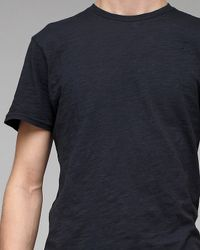 Comune | Black Slub Tee for Men | Lyst