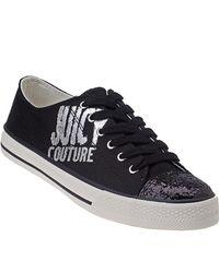 Juicy Couture | Briella - Black Logo Sneaker | Lyst