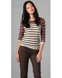 Madewell | Brown Rustic Lodge Sweater | Lyst