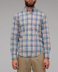 Gant Rugger | Blue New Haven Poplin for Men | Lyst