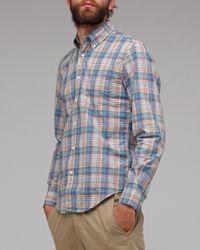 Gant Rugger   Blue New Haven Poplin for Men   Lyst