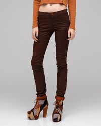 J Brand | Brown Turbulent Coated Clay | Lyst