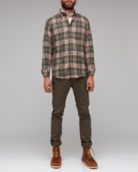 Pendleton | Brown Fireside Button Down Shirt for Men | Lyst