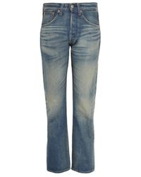 Junya Watanabe | Blue Boyfriend-fit Straight-leg Jeans | Lyst