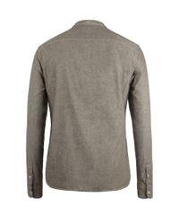 AllSaints | Brown Kendall L/s Shirt for Men | Lyst