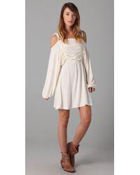 Daughters of the Revolution | White Goddess Mini Dress | Lyst