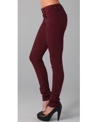 Joe's Jeans | Red Alice Skinny Visionaire Jeans | Lyst