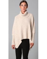 Yigal Azrouël | Natural Speckled Turtleneck Knit | Lyst
