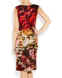 Erdem | Red Olivia Velvet Dress | Lyst