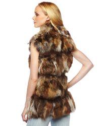 Michael Kors | Brown Fox Lodge Vest | Lyst
