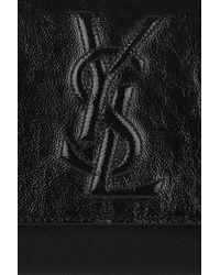 Saint Laurent | Black Belle De Jour Clutch Bag | Lyst