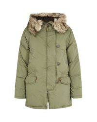Denim & Supply Ralph Lauren | Green Snorkel Down Jacket | Lyst