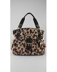 Juicy Couture | Multicolor Leopard Velour Stroller Bag in Heather Croissant | Lyst