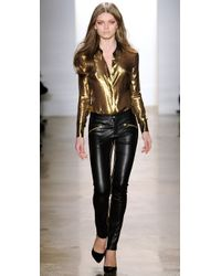 Kevork Kiledjian - Metallic Long Sleeve Tailored Shirt - Lyst