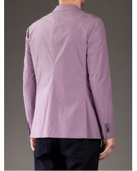 Moschino - Purple Classic Blazer for Men - Lyst