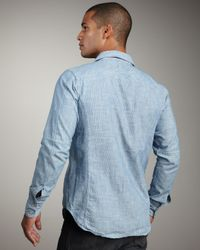 Rag & Bone | Blue Trail Shirt for Men | Lyst