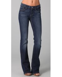 7 For All Mankind | Blue High Waist Boot Cut Jeans | Lyst