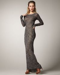 A.L.C. | Gray Long Sweater-dress | Lyst