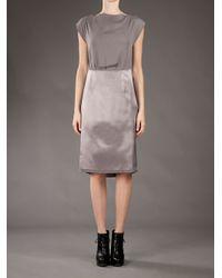 Maison Margiela | Purple Shift Dress | Lyst