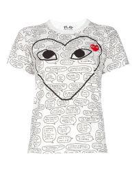 Comme des Garçons | White Matt Groening X T-Shirt | Lyst