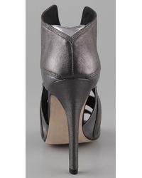 Camilla Skovgaard - Metallic Front Wing Stiletto Sandals - Lyst