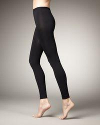 Wolford Black Velvet Shaping Leggings