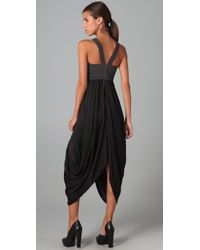 A.L.C. | Black Suzanne Dress | Lyst