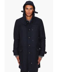G-Star RAW - Blue Re Duffle Coat for Men - Lyst