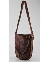 House of Harlow 1960 | Brown Magnolia Messenger Bag | Lyst