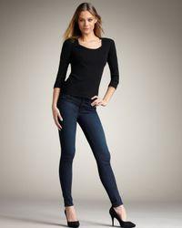 J Brand | Blue Super Skinny Majestic Jeans | Lyst