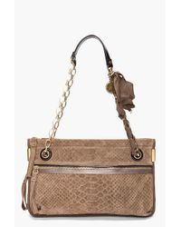 Lanvin | Brown Amalia Bag | Lyst