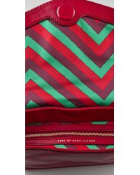 Marc By Marc Jacobs - Red Voyage Clutch - Lyst