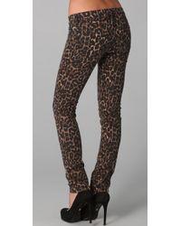 Rebecca Minkoff   Multicolor Jessica Cheetah Jeans   Lyst
