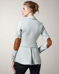 Smythe | Blue Arm-patch Hunting Jacket | Lyst