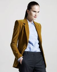 The Row - Yellow Perch-patch Corduroy Jacket - Lyst