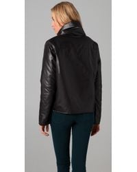Cheap Monday - Black Pullover Puffer Jacket - Lyst