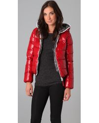 Duvetica - Red Thia Packable Down Puffer Coat - Lyst