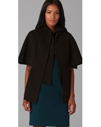 Elie Tahari - Brown Roxy Cape - Lyst