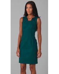 Elie Tahari - Green Evette Dress - Lyst