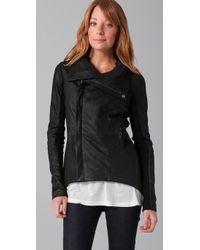 VEDA - Black Stevie Leather Jacket - Lyst