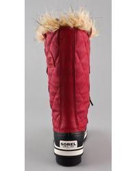 Sorel - Red Tofino Waterproof Boots - Lyst