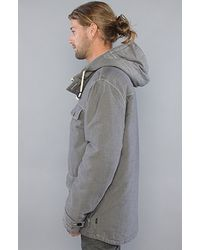 Wesc - Gray The Edison Jacket in Chambray Black for Men - Lyst