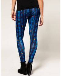ASOS Collection | Blue Asos Maternity Ikat Print Legging | Lyst