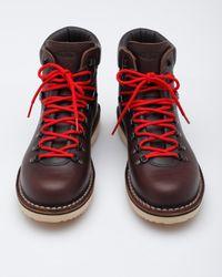 Diemme - Brown Full Grain Leather Vibram Sole Boot for Men - Lyst