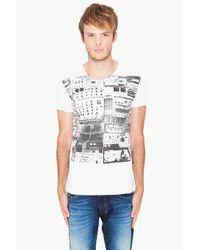 DIESEL - Deeg-rs White T-shirt for Men - Lyst