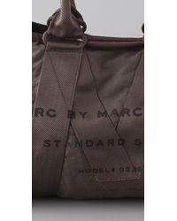 Marc By Marc Jacobs | Gray M Standard Supply Small Cargo Satchel | Lyst