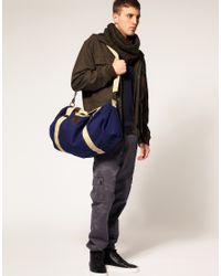 ASOS Collection | Blue Asos Canvas Barrel Bag for Men | Lyst