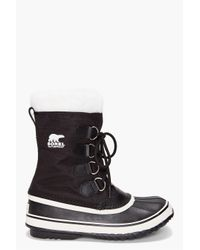 Sorel | Black Winter Carnival Boots | Lyst