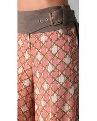 Tory Burch - Pink Mcfall Pant - Lyst