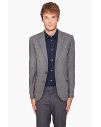 Shades of Grey by Micah Cohen - Gray 2 Button Blazer for Men - Lyst